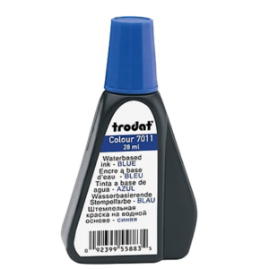 Trodat Ink 28ml Blue